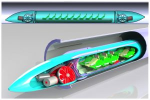 Hyperloop - ein rasendes Medium.
